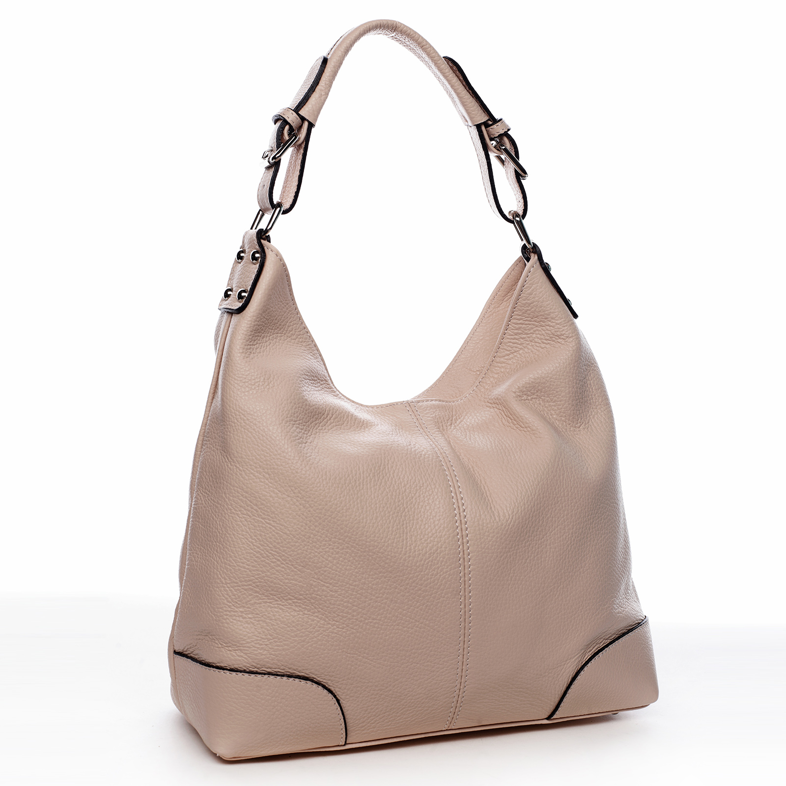 Dámská kožená kabelka růžová - ItalY Inpelle