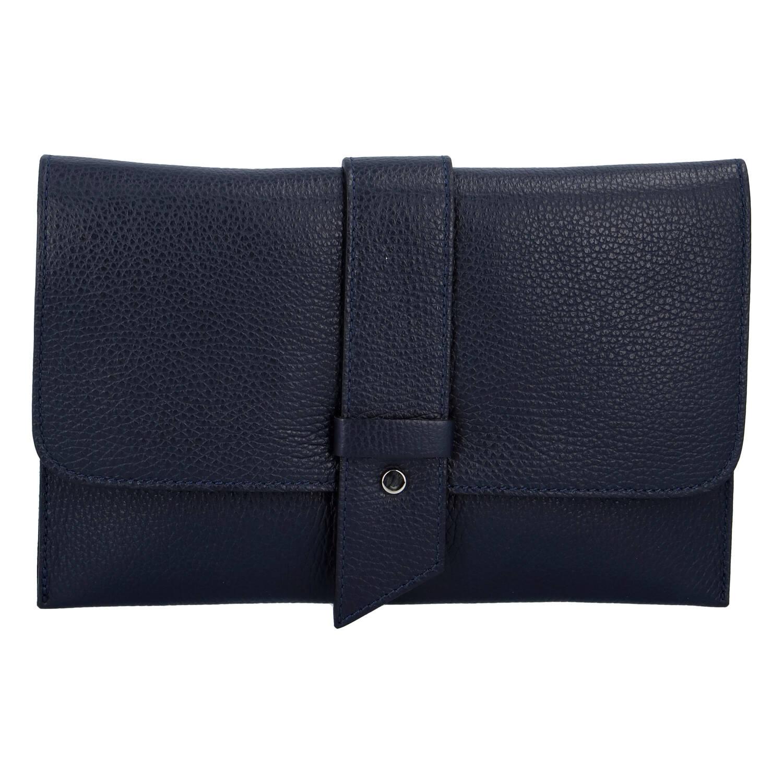 Luxusní dámská kabelka tmavě modrá - ItalY Brother