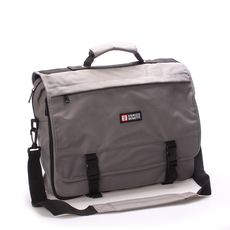 Pánská taška přes rameno šedá - Enrico Benetti 14321