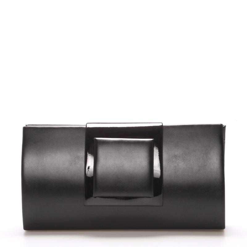 Černé psaníčko-kabelka Royal Style 026
