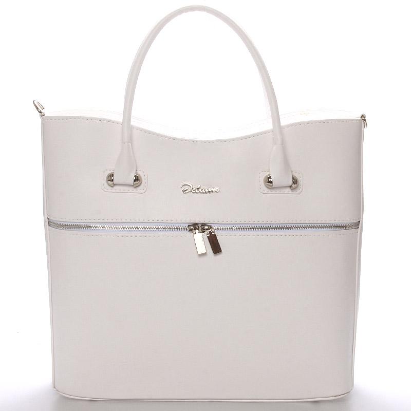Luxusní dámská kabelka bílá - Delami Veronica