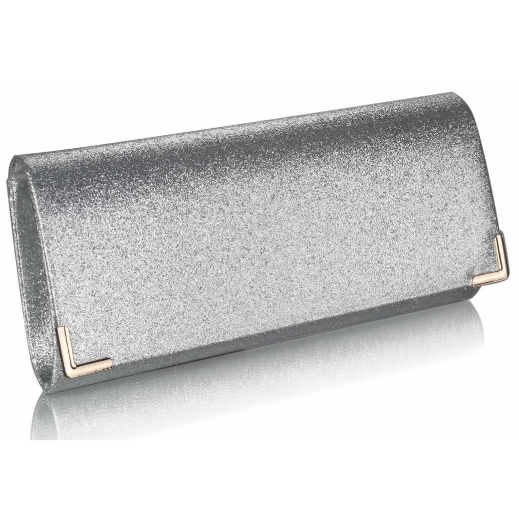 Stříbrné glitterové psaníčko LSE00235
