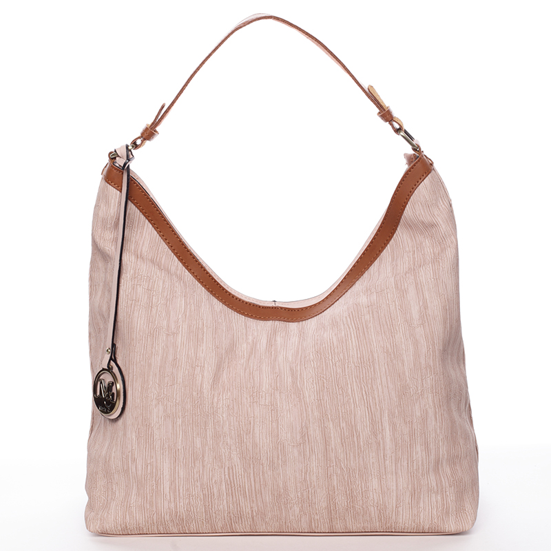 Originální dámská kabelka přes rameno růžová - MARIA C Ryann