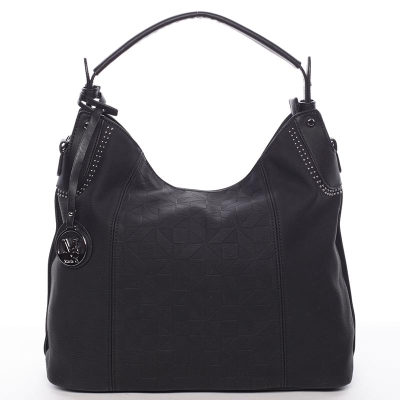 Jedinečná dámská kabelka pro každý den černá - MARIA C Parker