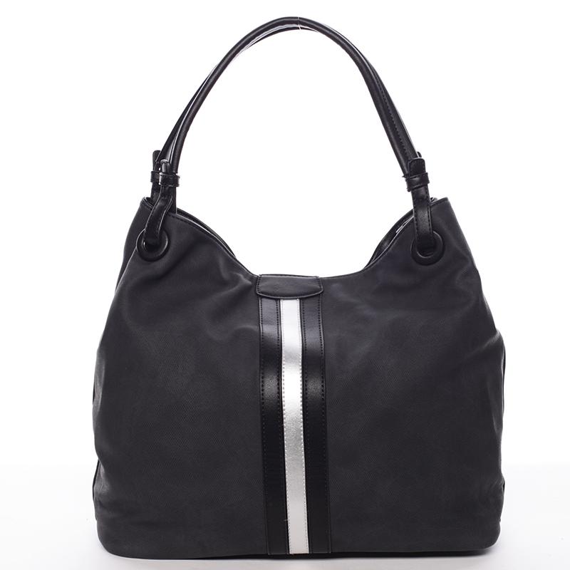 Moderní dámská kabelka pro každý den černá - MARIA C Aileen