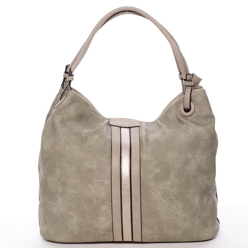 Moderní dámská kabelka pro každý den zelená - MARIA C Aileen