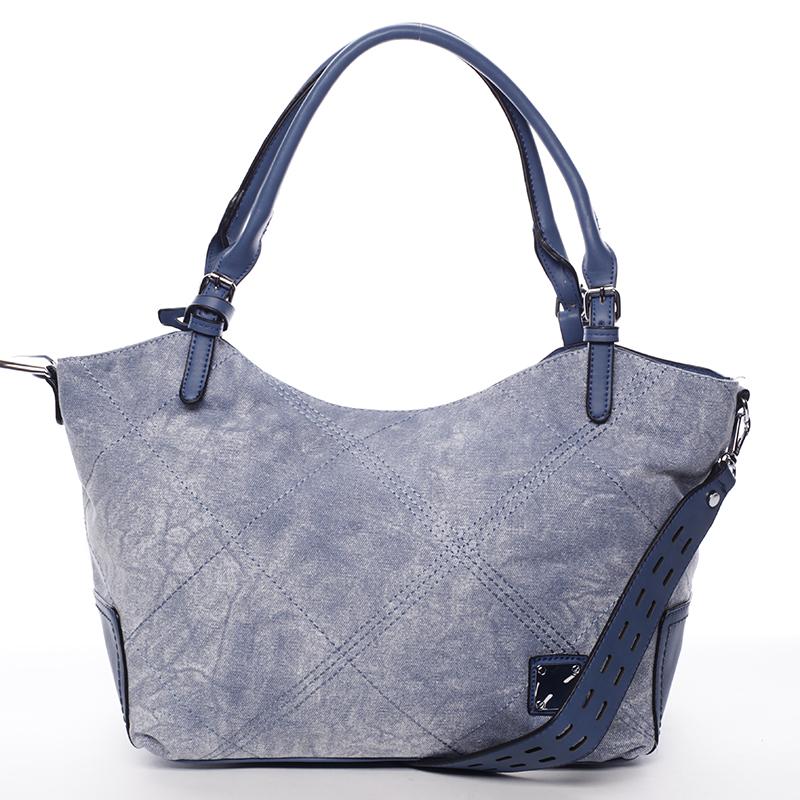 Módní dámská kabelka modrá - MARIA C Myrtis
