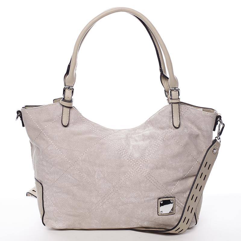 Módní dámská kabelka béžová - MARIA C Myrtis