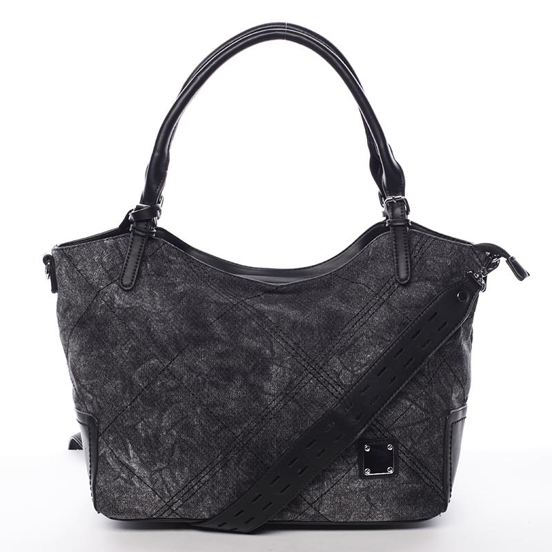 Módní dámská kabelka černá - MARIA C Myrtis