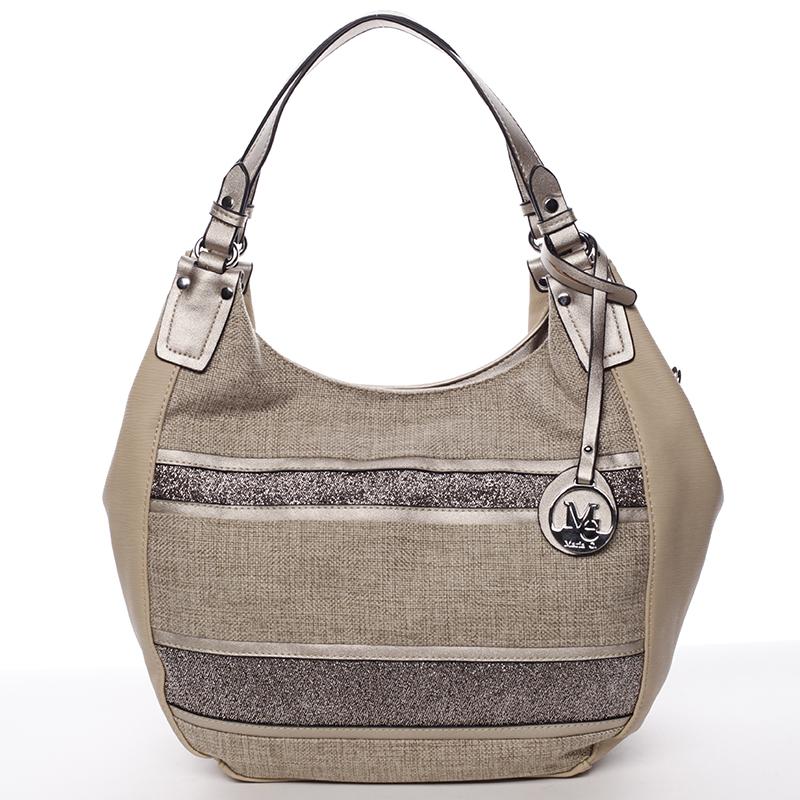 Oblá elegantní dámská kabelka přes rameno tělová - MARIA C Naiya
