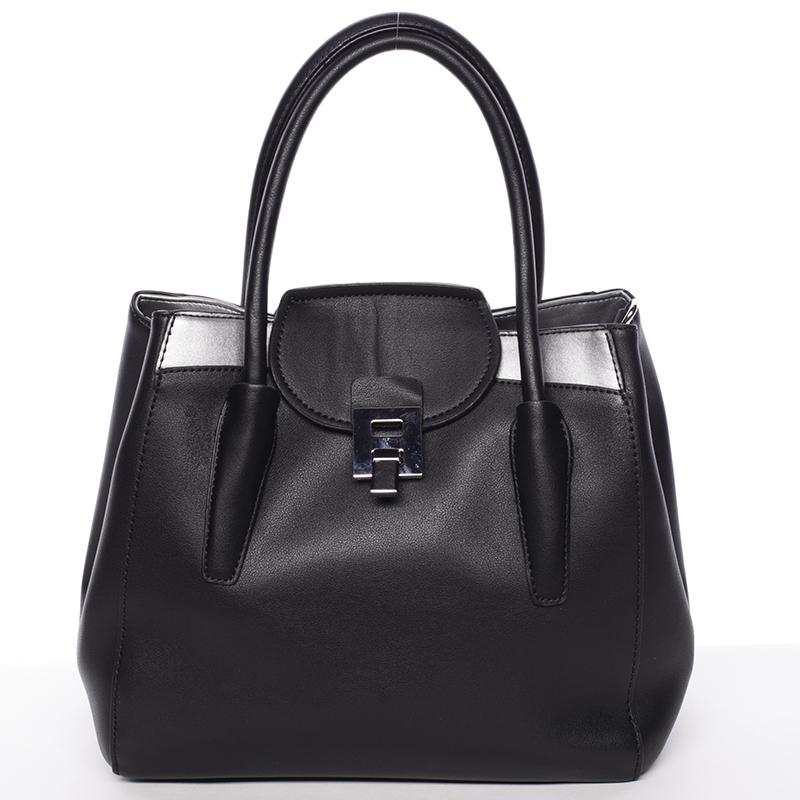 Moderní menší dámská kabelka černá - Tommasini Sloane