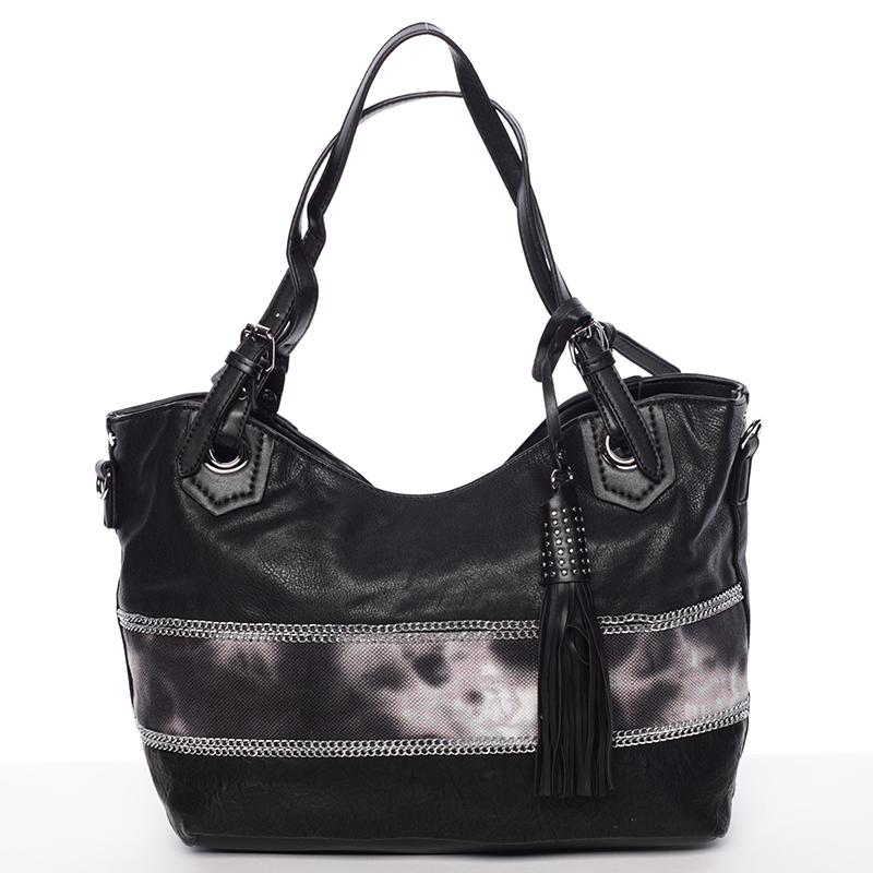 Originální dámská kabelka přes rameno černá - MARIA C Aliyah