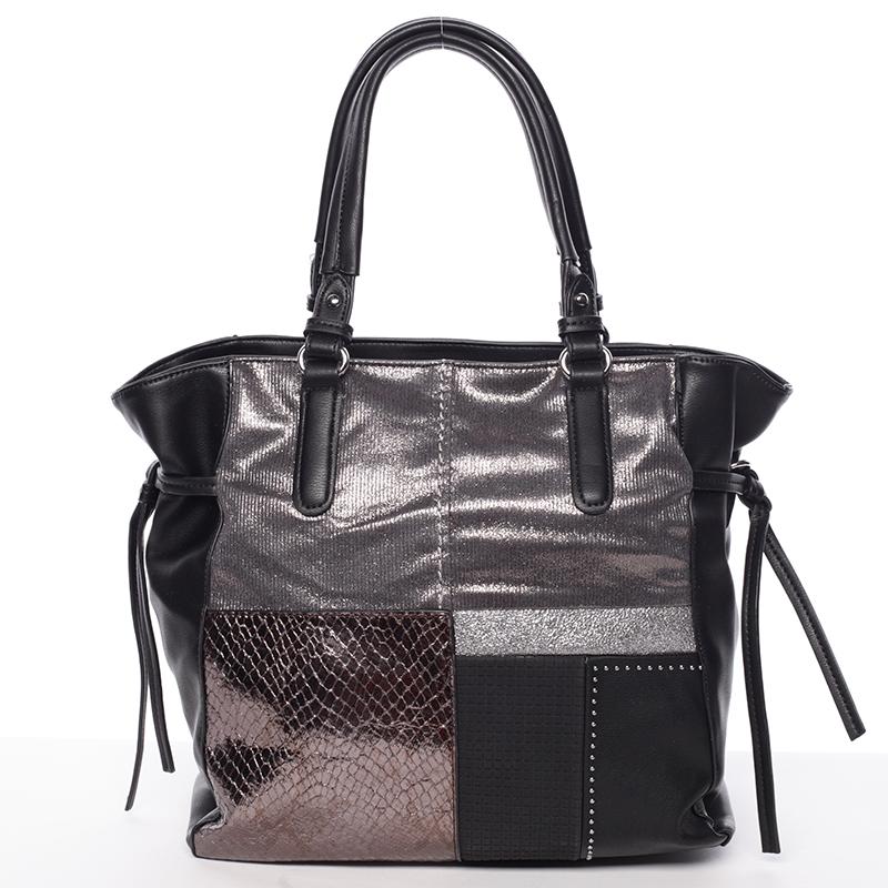 Exkluzivní dámská kabelka černá - MARIA C Addisyn