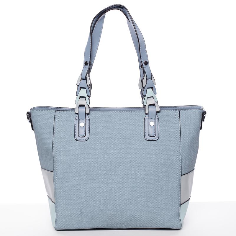 Jedinečná dámská kabelka přes rameno modrá - MARIA C Nola