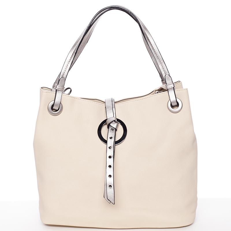 Originální dámská kabelka do ruky béžová - MARIA C Cherish