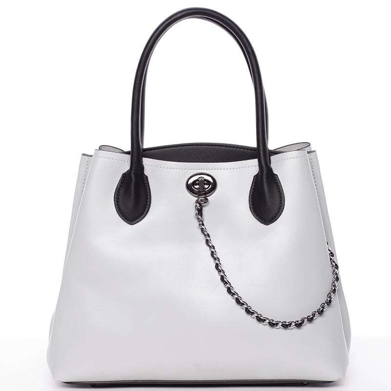 Elegantní dámská kabelka do ruky šedá - Tomassini Abby