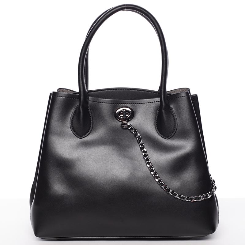 Elegantní dámská kabelka do ruky černá - Tommasini Abby