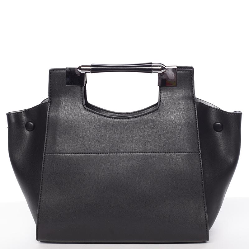 Moderní dámská kabelka do ruky černá - Tommasini Marisa
