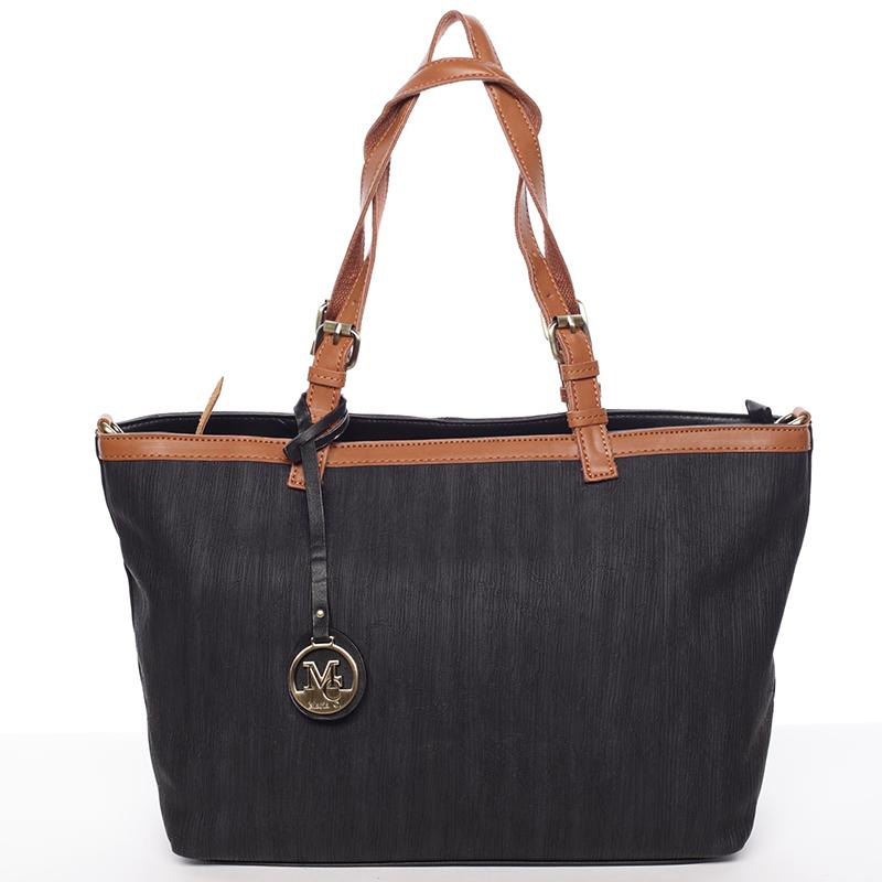 Módní dámská kabelka přes rameno černá - MARIA C Itzel