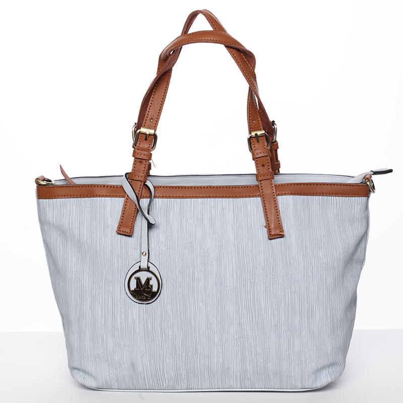 Módní dámská kabelka přes rameno modrá - MARIA C Itzel