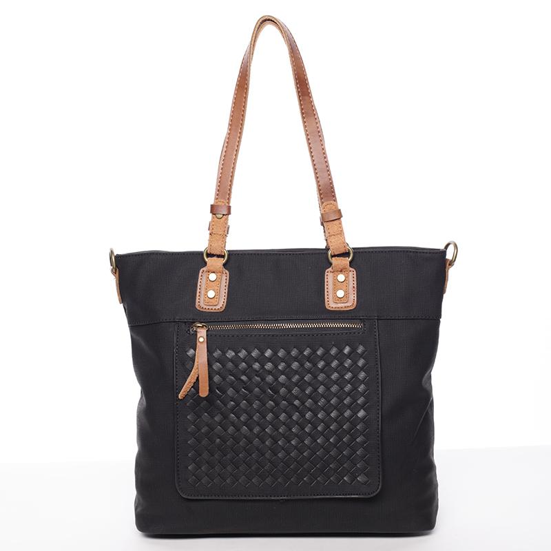 Nadčasová dámská kabelka přes rameno černá - MARIA C Gwendolyn
