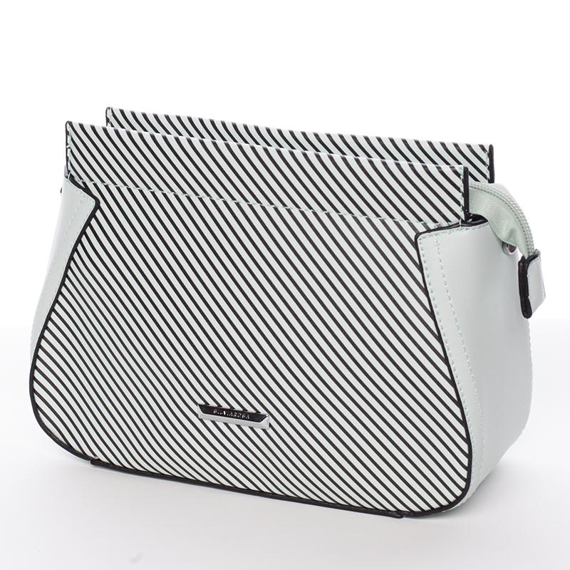Malá originální crossbody kabelka světle zelená - Silvia Rosa Media