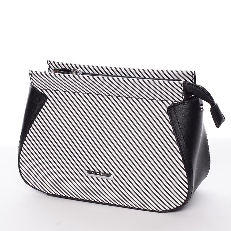 Malá originální crossbody kabelka černá - Silvia Rosa Media
