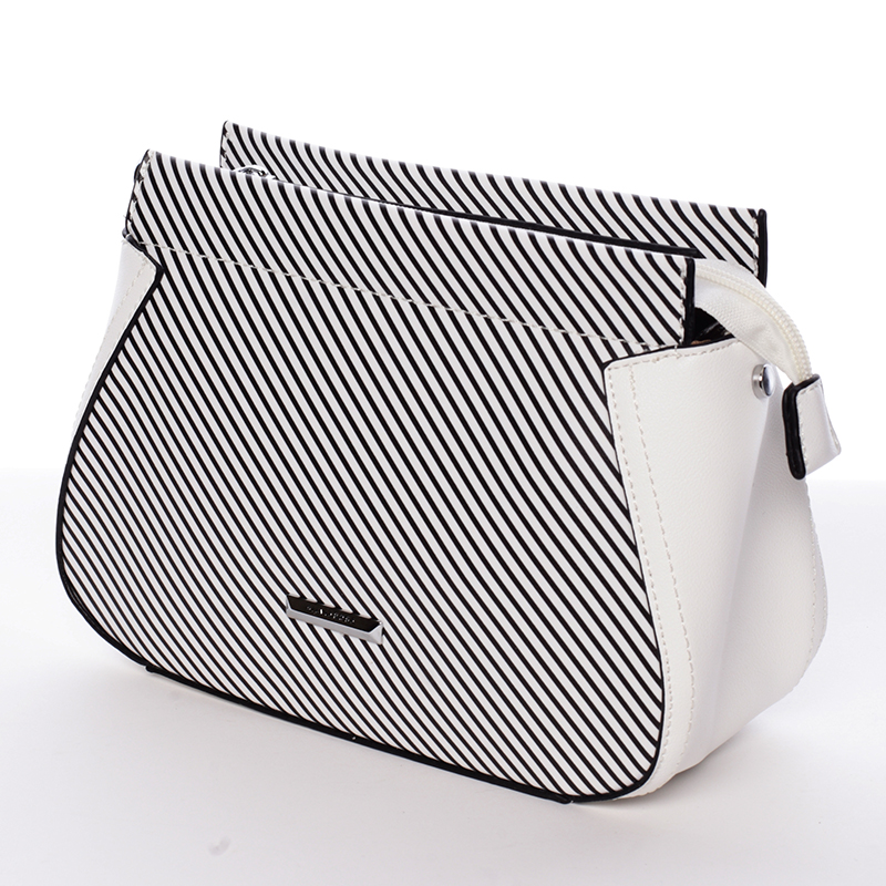 Malá originální crossbody kabelka bílá - Silvia Rosa Media