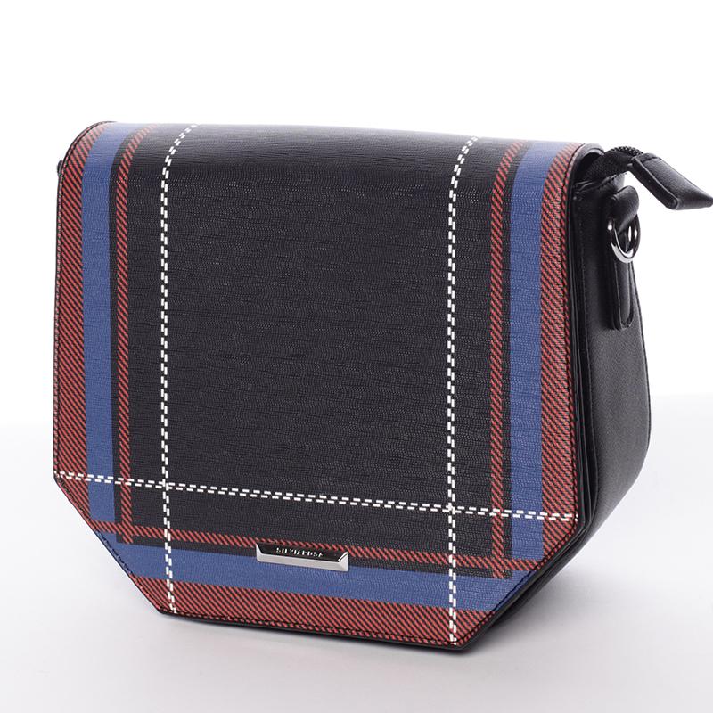 Trendy černá crossbody kabelka - Silvia Rosa Medea
