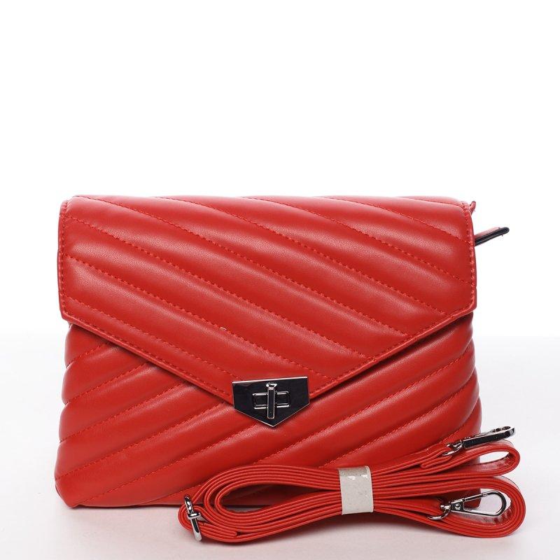 Módní originální crossbody kabelka červená - Silvia Rosa Nastaran