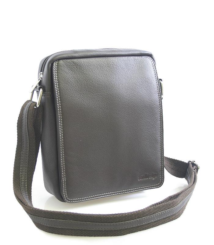Hnědá kožená pánská taška na doklady 52005