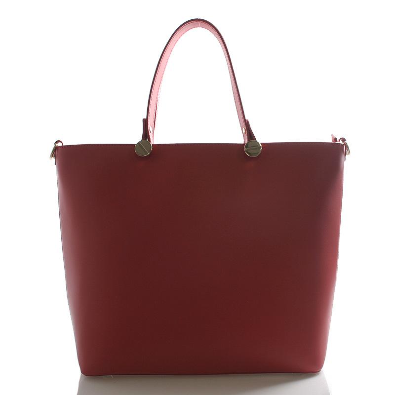 Dámská kabelka červená - ItalY Elza