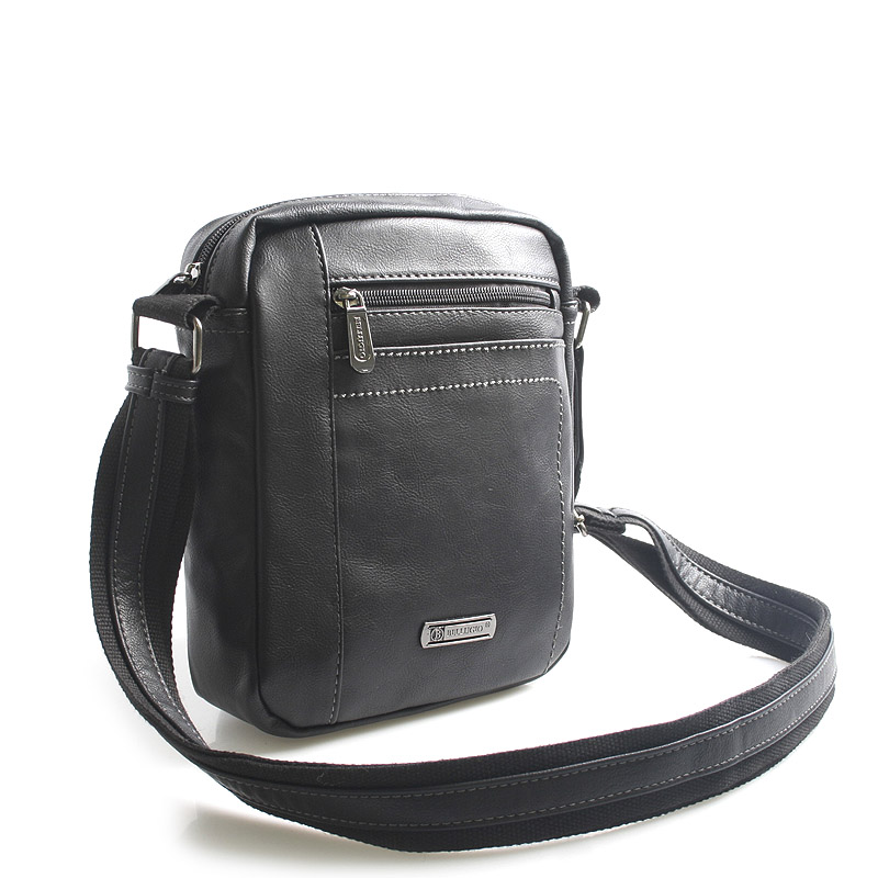 Černá taška přes rameno na doklady Bellugio Blake