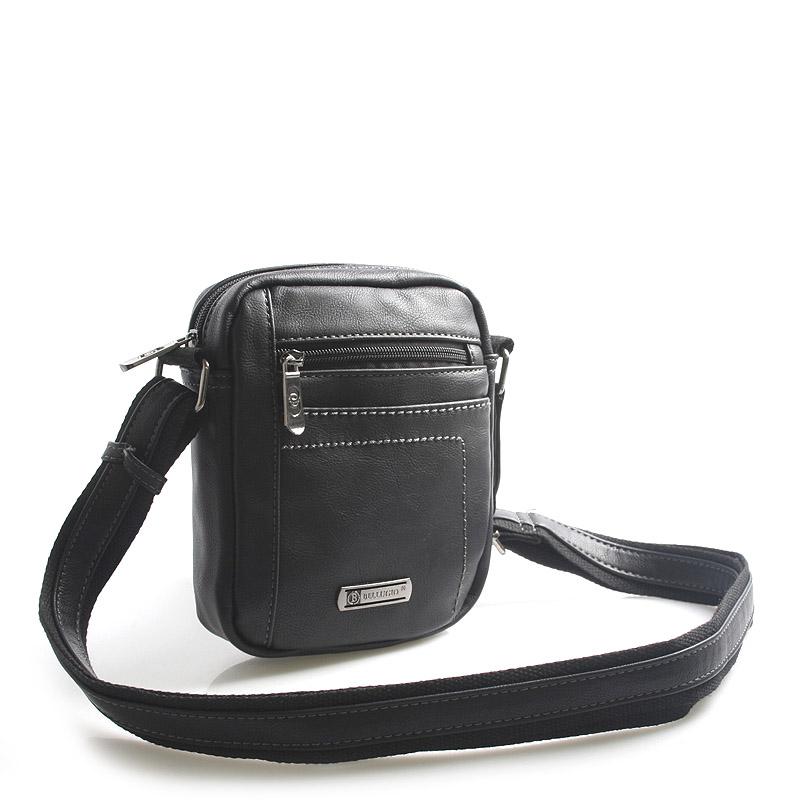 Černá taška přes rameno na doklady Bellugio Cash