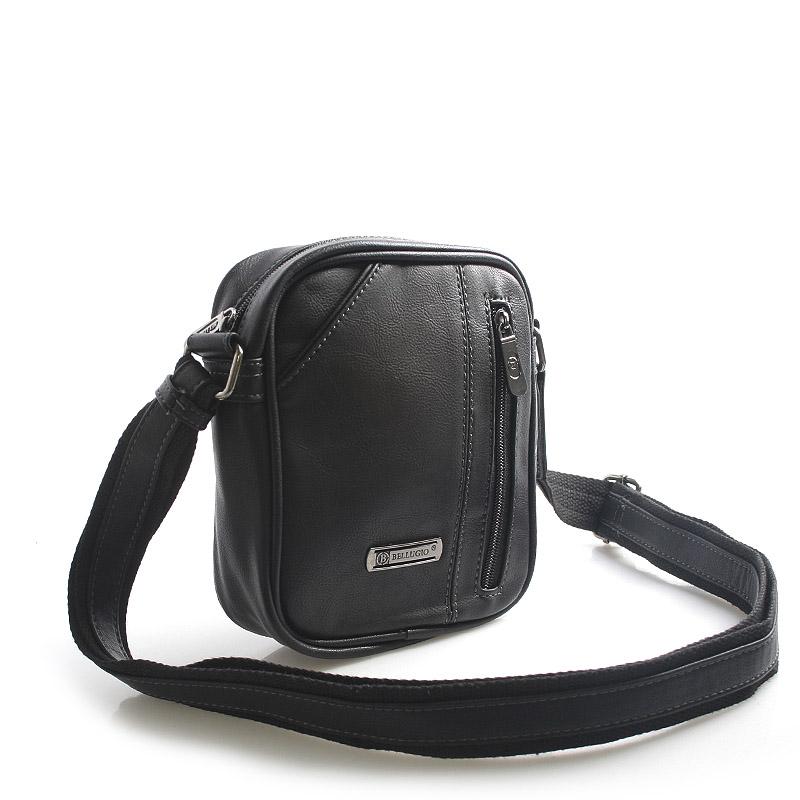 Černá taška přes rameno na doklady Bellugio Tango