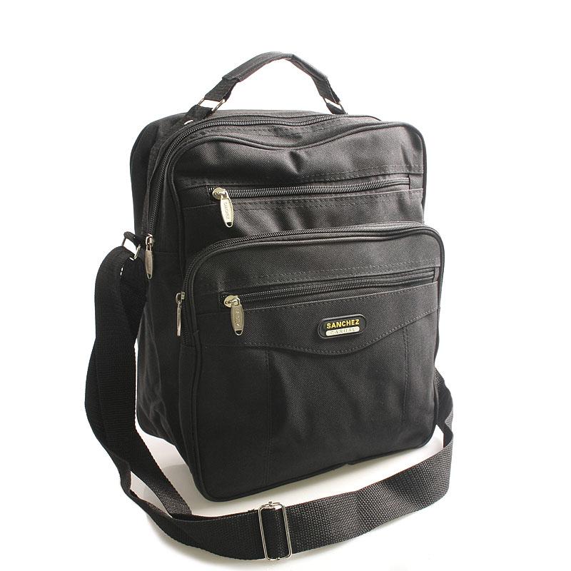 Černá taška přes rameno Sanchez Marvin