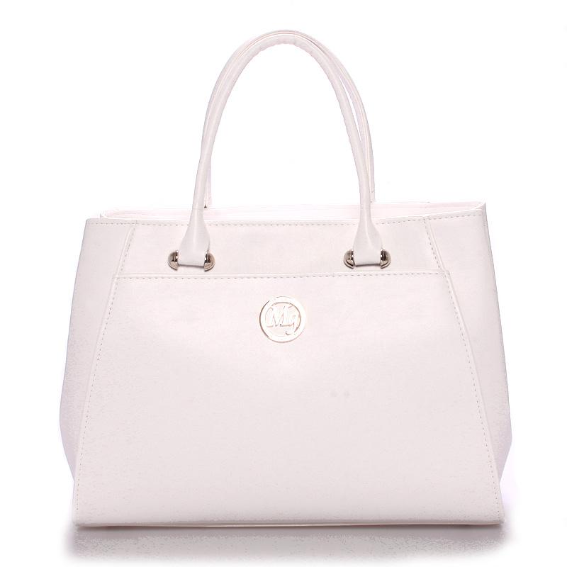 Dámská luxusní kabelka matná bílá - Maggio Astrid