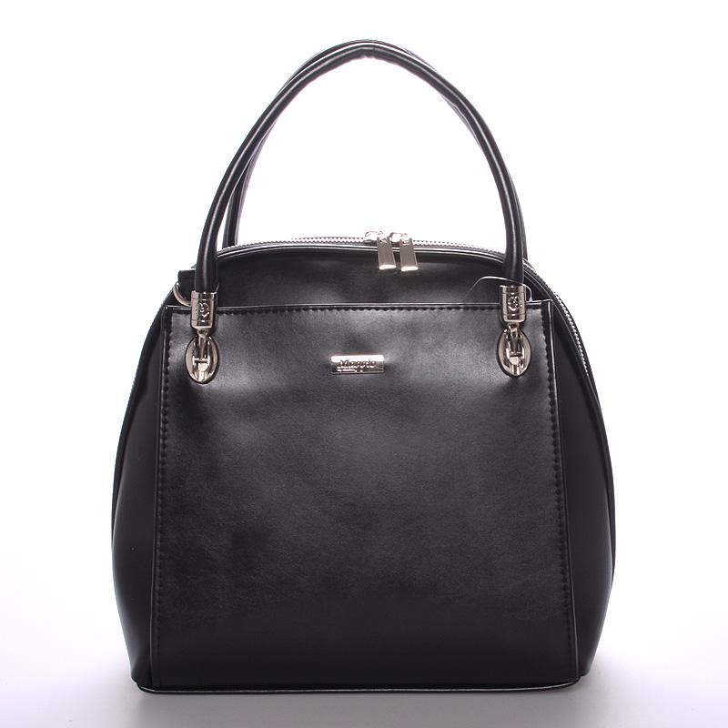 Dámská luxusní kabelka matná černá - Maggio Florencia