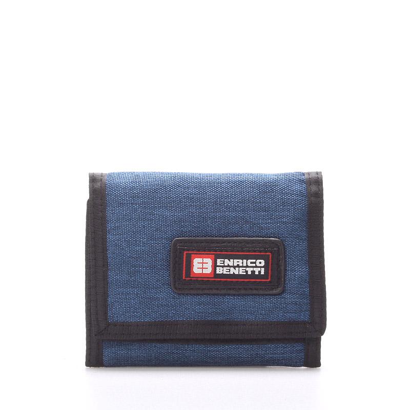 Peněženka látková modrá - Enrico Benetti 4500