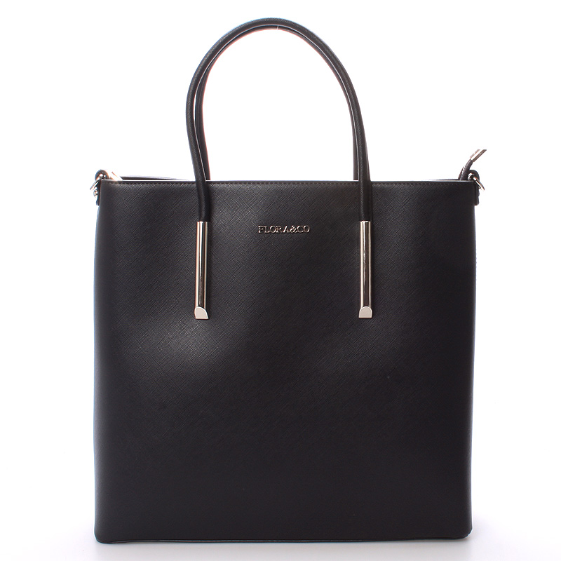 Luxusní dámská kabelka černá - FLORA&CO Paris