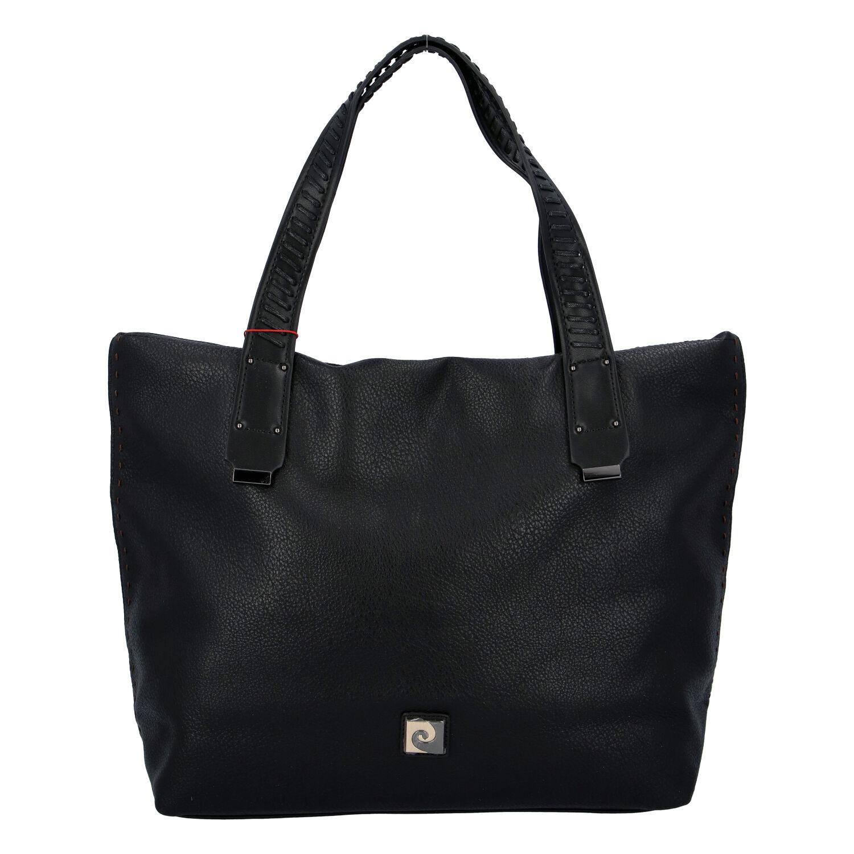 Velká dámská kabelka přes rameno černá - Pierre Cardin Altin