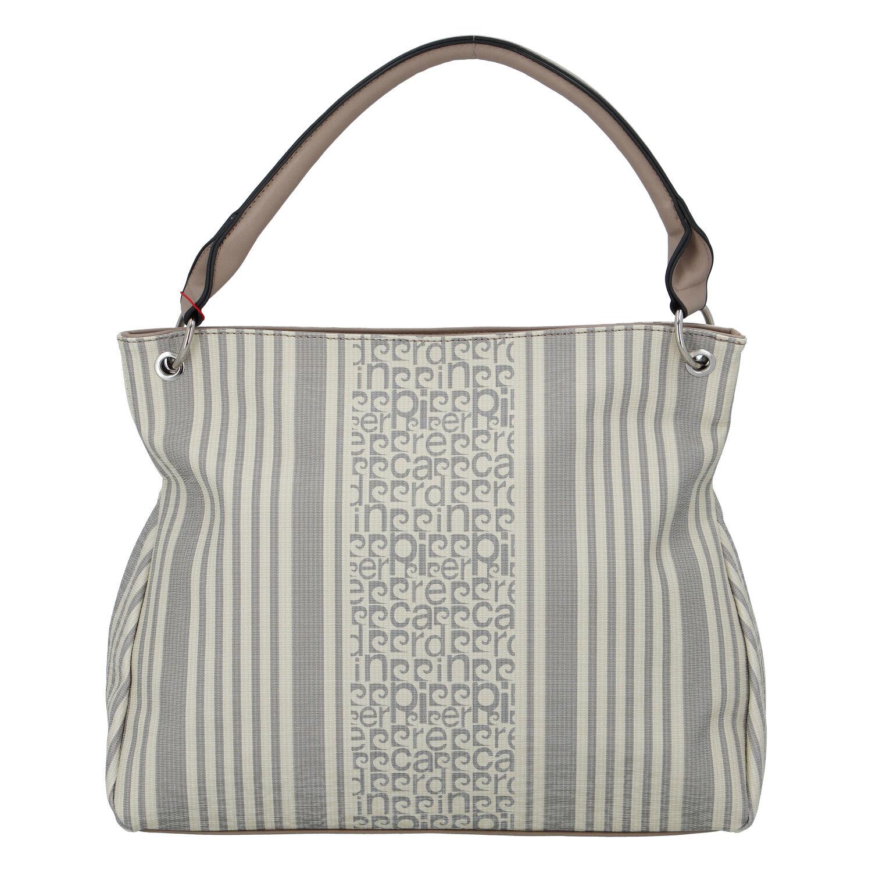 Dámská kabelka přes rameno šedá - Pierre Cardin Jessy