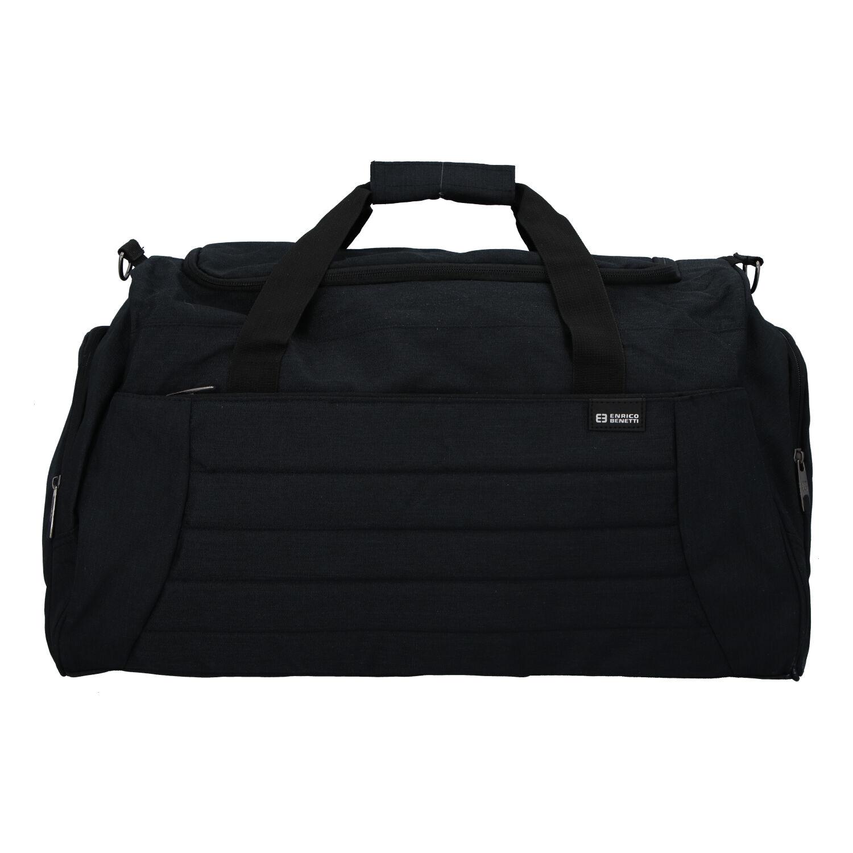 Cestovní taška černá - Enrico Benetti Riksmus