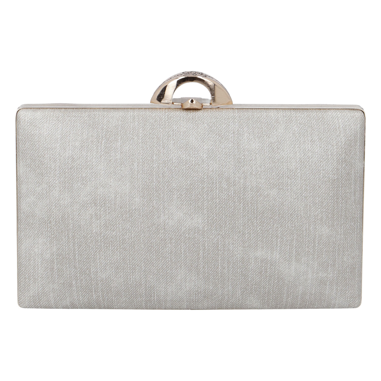 Luxusní dámské psaníčko stříbrně zlaté - Michelle Moon DaPirre