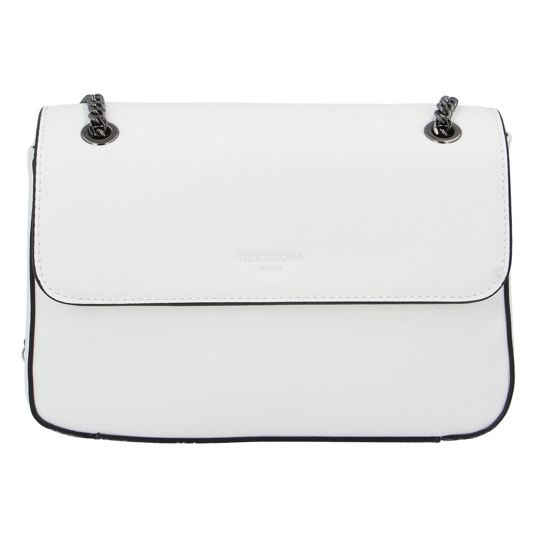 Dámská kabelka bílá - Hexagona Guanga
