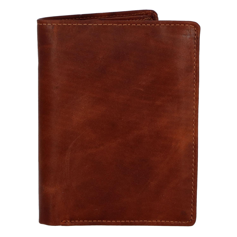 Pánská kožená peněženka hnědá - Tomas Palac