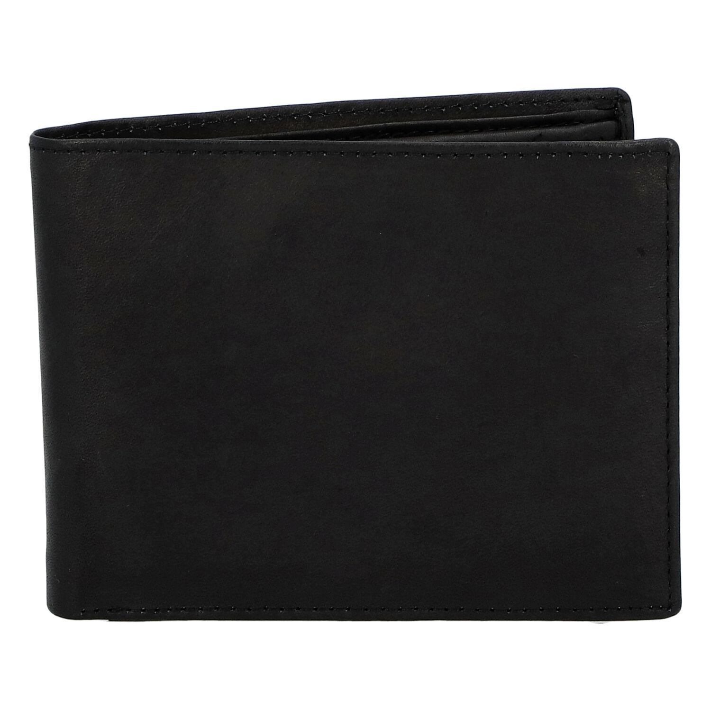 Pánská kožená peněženka černá - Diviley Marek