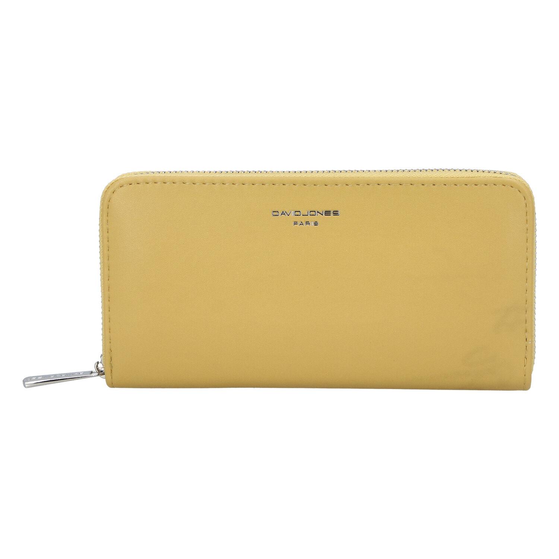 Dámská peněženka žlutá - David Jones P101