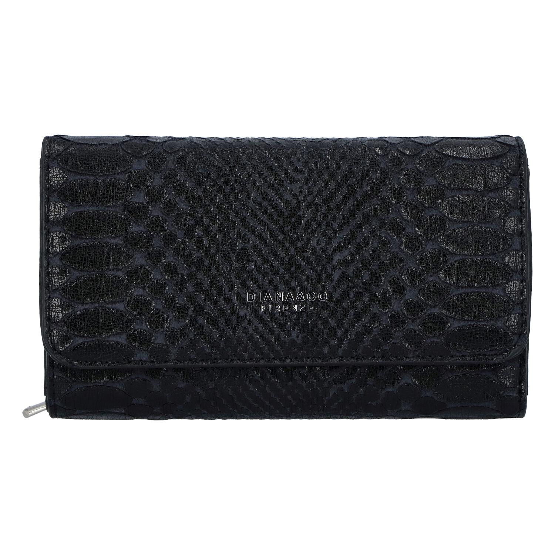 Dámská peněženka černá - DIANA & CO Snies