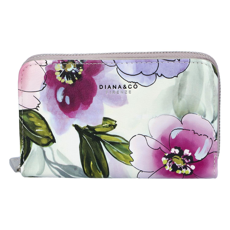 Dámská peněženka šedá - DIANA & CO Beperk